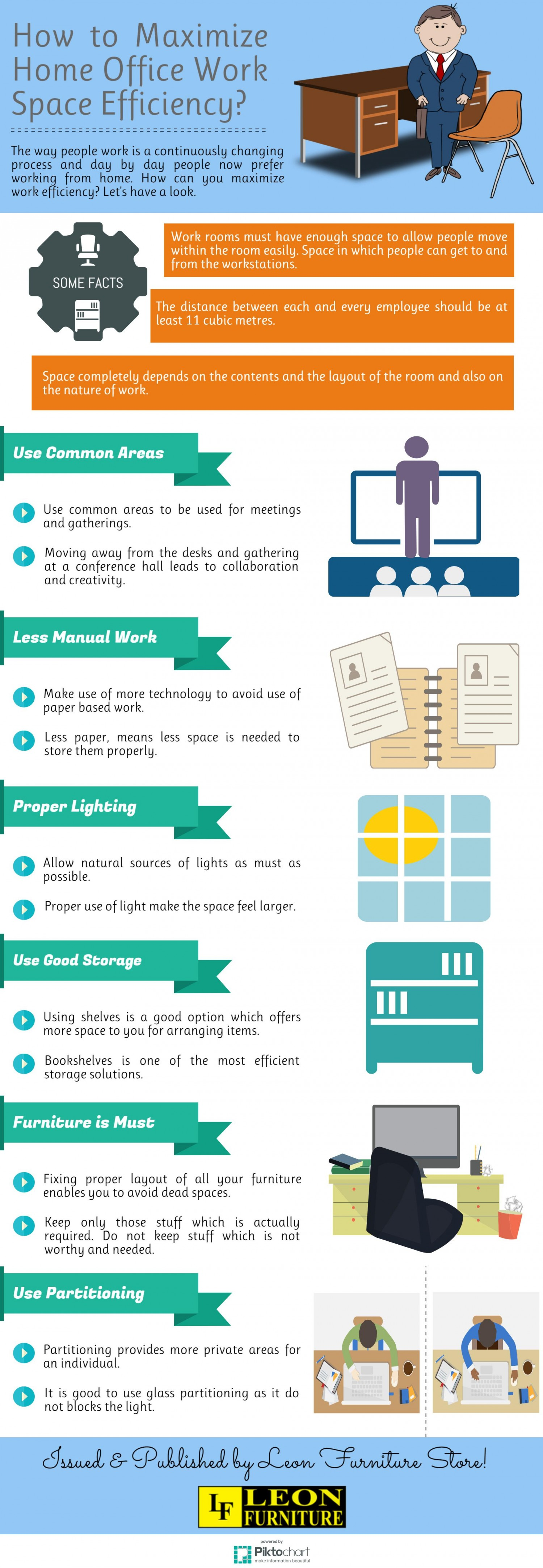 maximize home office work space