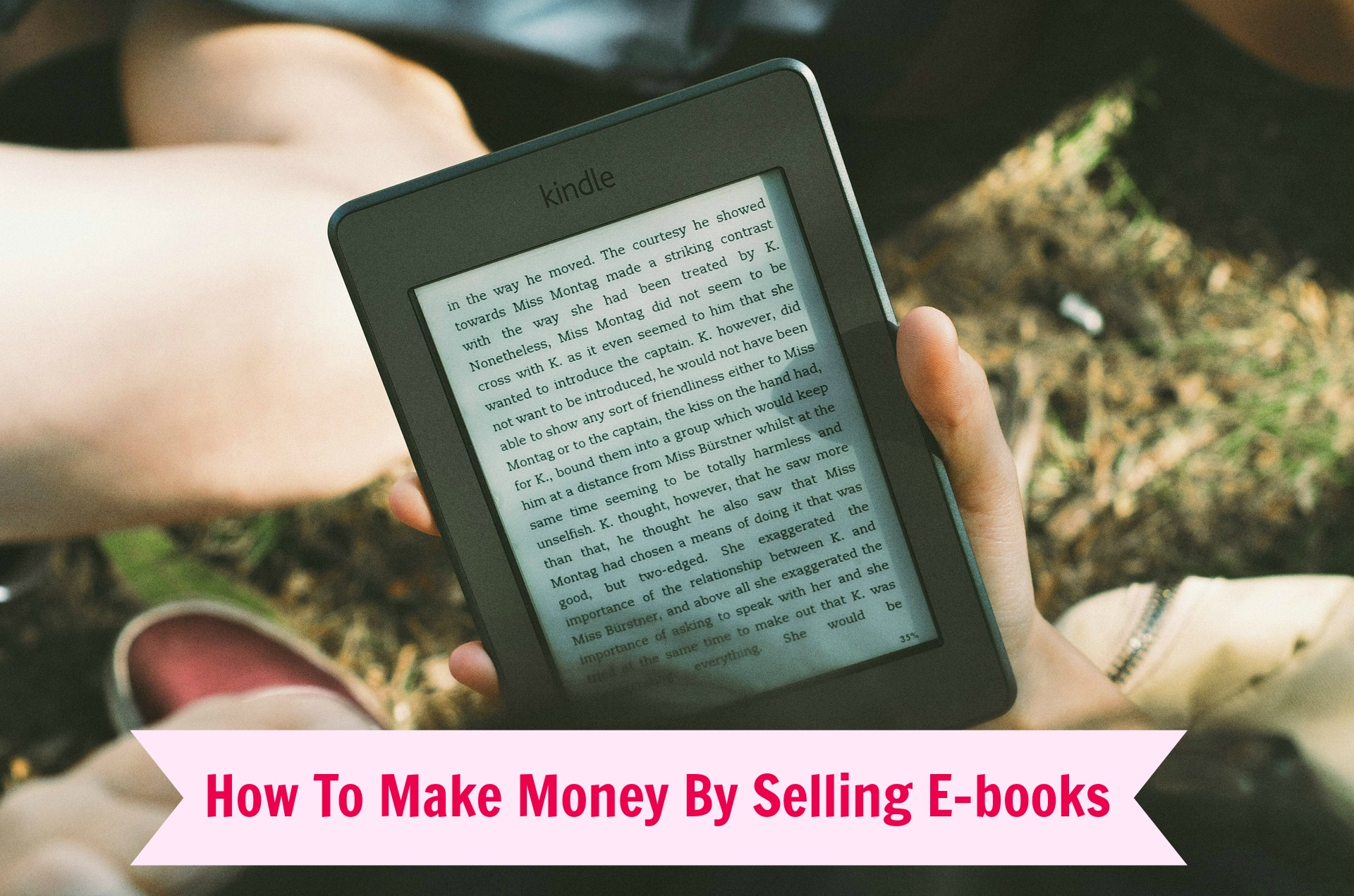 Selling E-books - everything you need to know